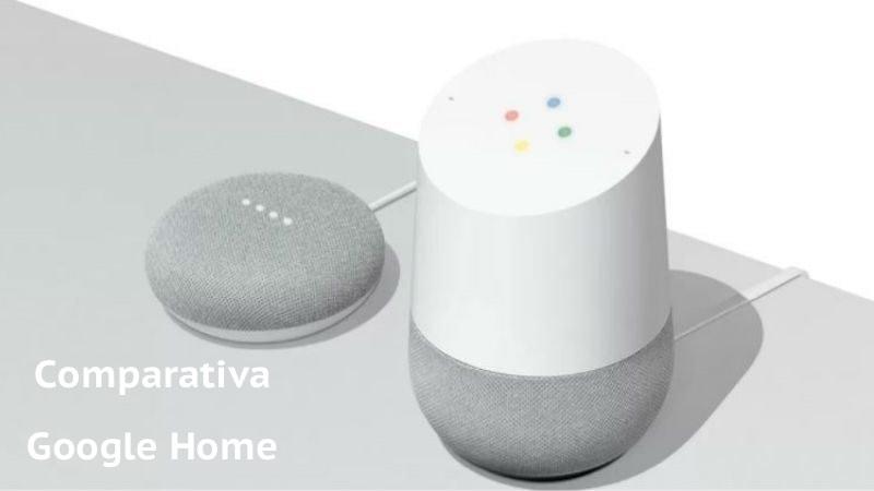 Comparamos Google home y mini