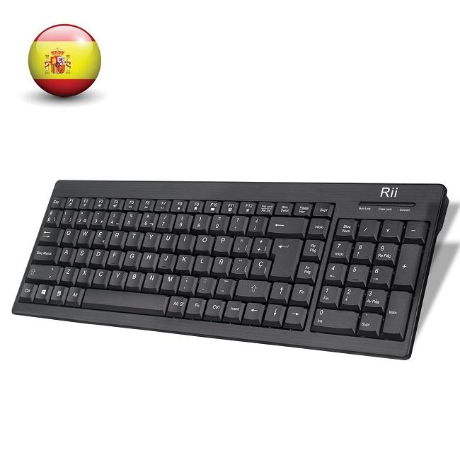 descripcion teclado rii