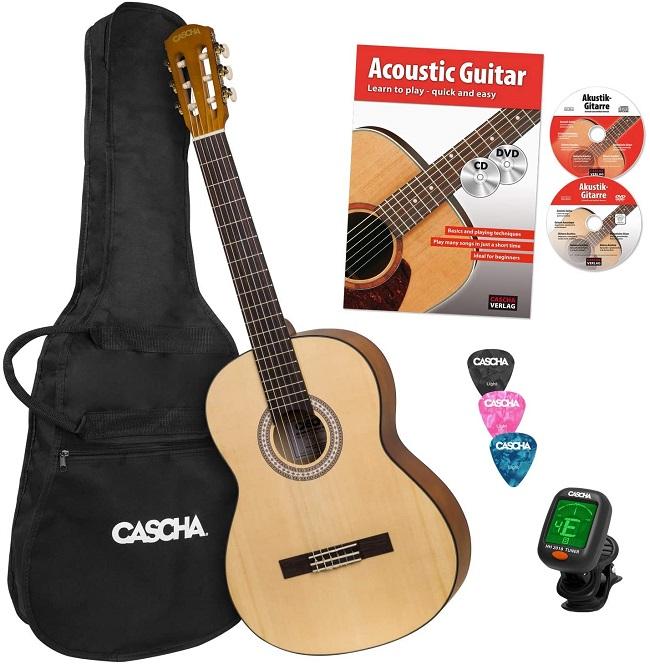 descripcion guitarra cascha