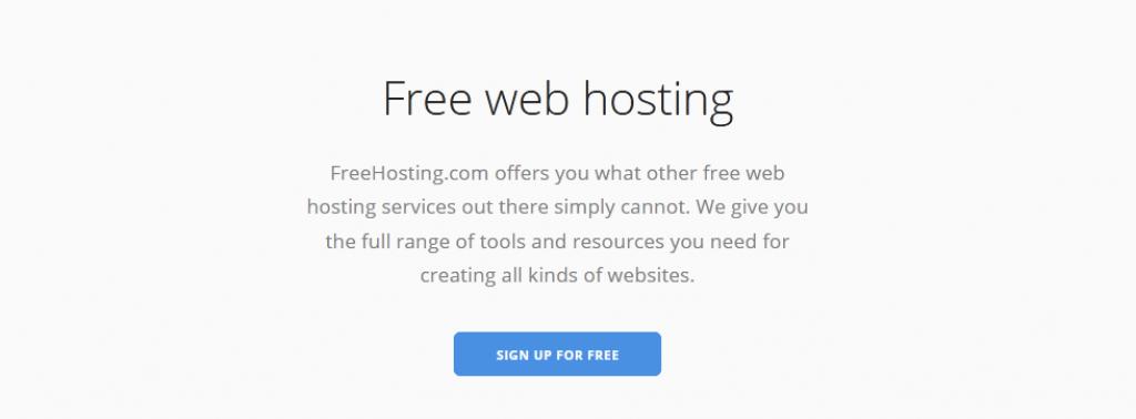 FreeHosting - Hosting gratuito