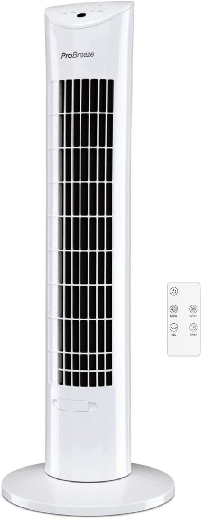 descripcion ventilador pro breeze