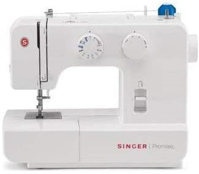 descripcion maquina coser singer promise