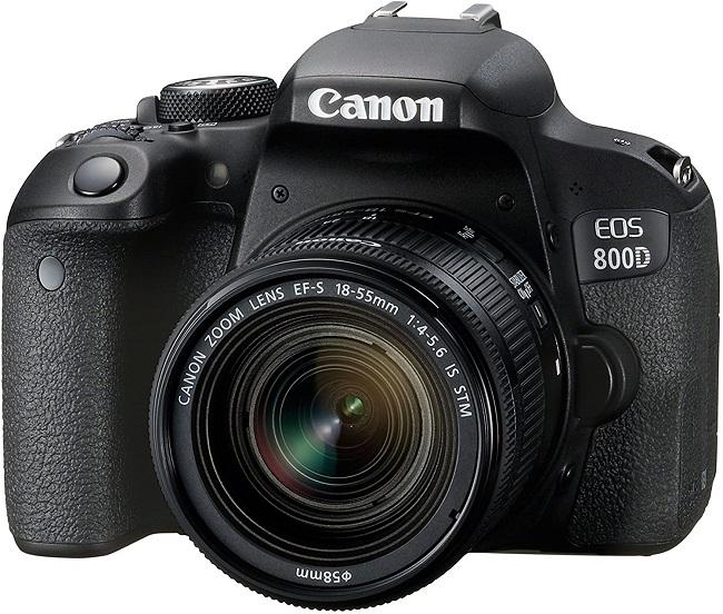 descripcion camara canon eos 800d