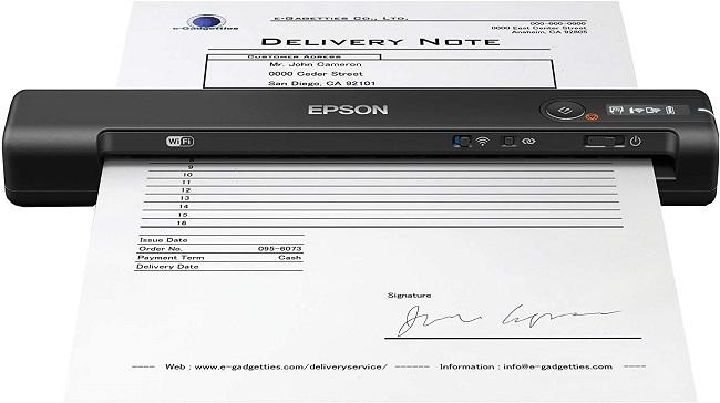 descripcion escaner epson workforce